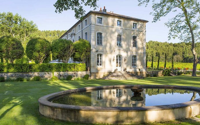 Chateau Talaud in Provenza, Bed and breakfast Camere di prestigio