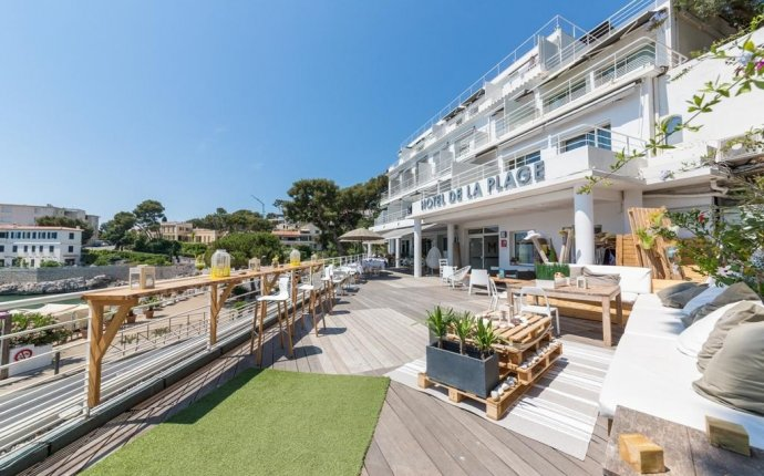 Hotel & Spa de La Plage - Mahogany, Cassis, France - Booking.com